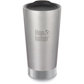 Klean Kanteen Tumbler Vacuum Insulated Drinkfles 473ml zilver
